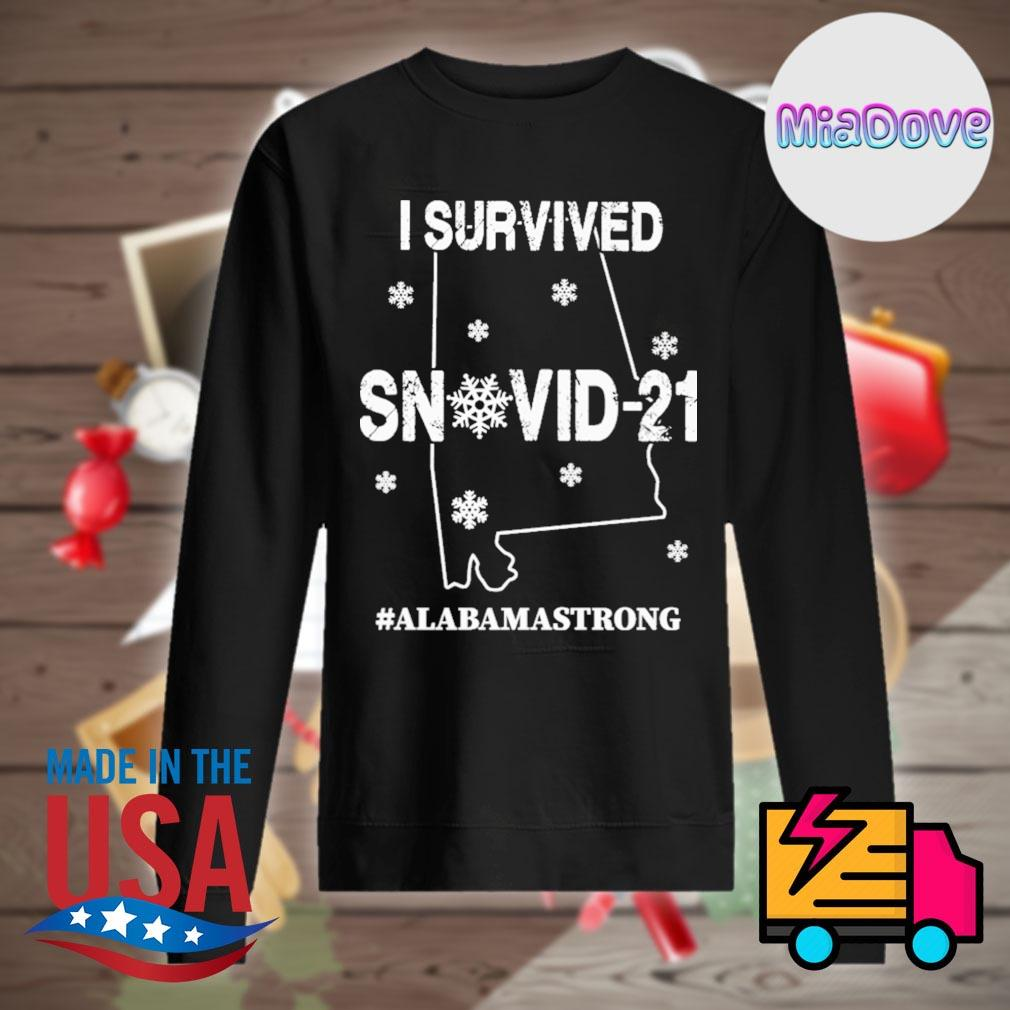 I survived Snovid 21 Alabama strong s Sweater