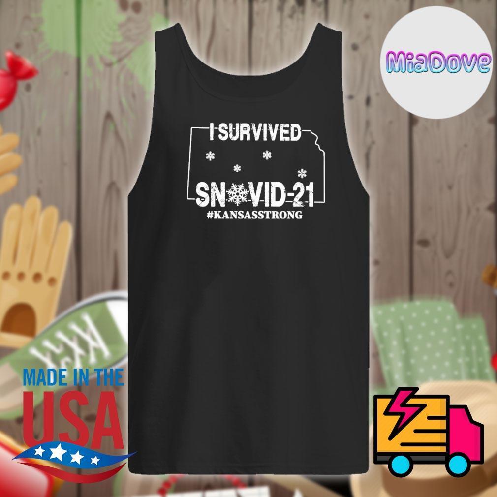 I survived SnoVid 21 Kansas strong s Tank-top