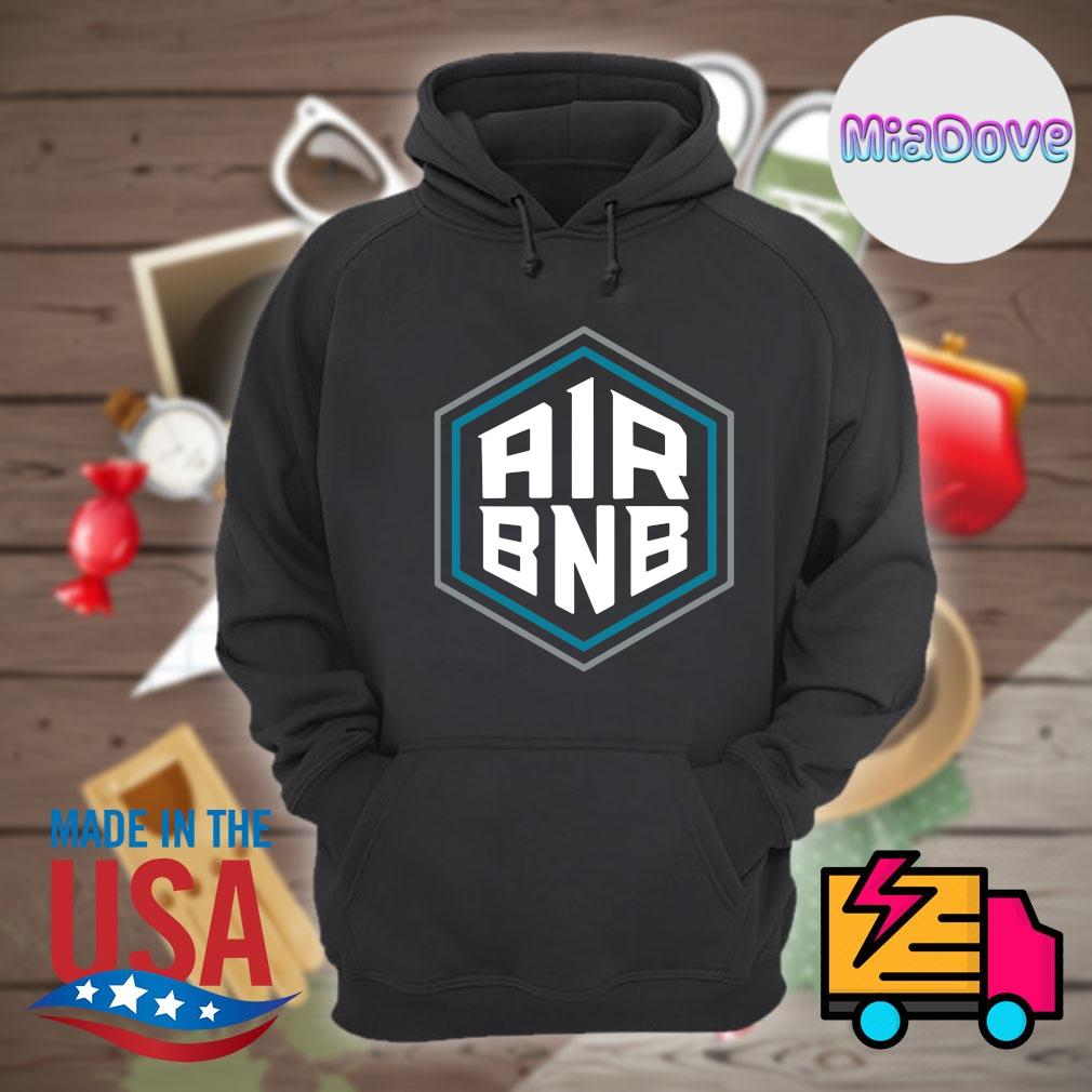 Air BNB Charlotte Basketball s Hoodie