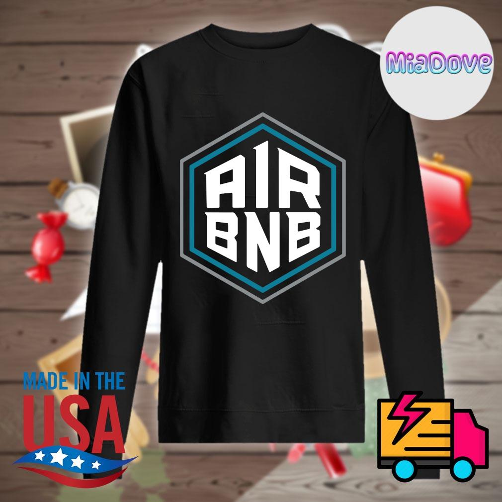 Air BNB Charlotte Basketball s Sweater