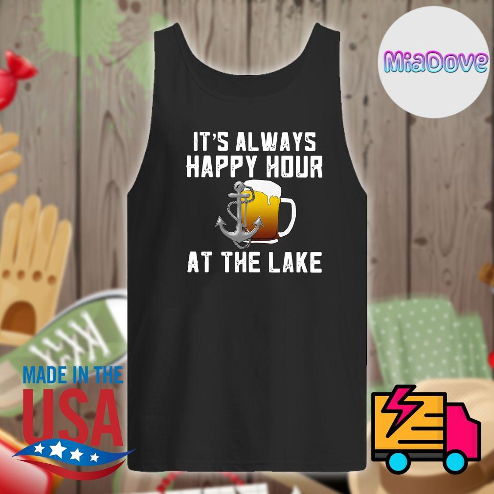 Beer It's always happy hour at the lake s Tank-top