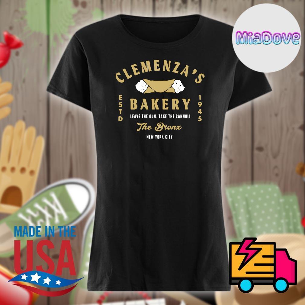 Clemenza's estd Bakery 1945 leave the gun take the cannoli the bronx New York city s V-neck