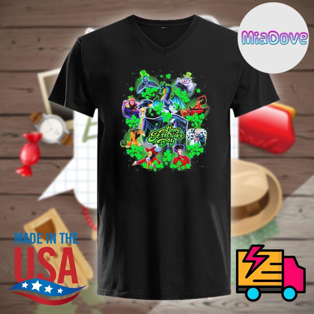 Disney Villains Happy St. Patrick's Day shirt