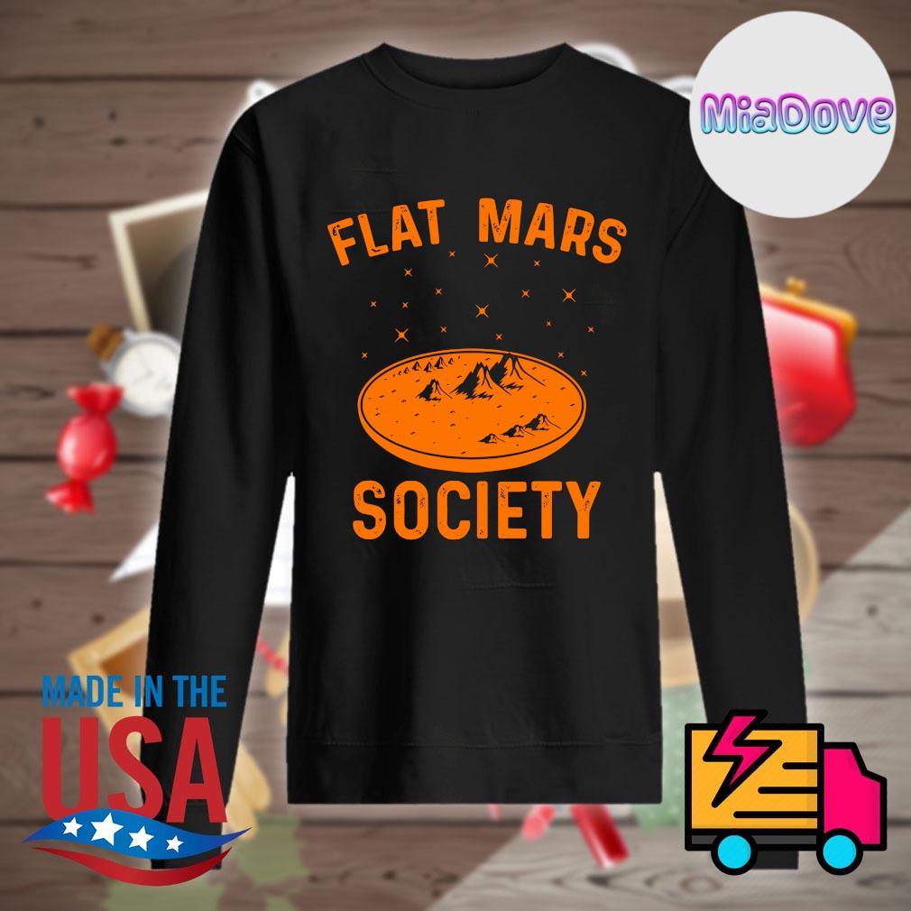 Flat Mars society s Sweater