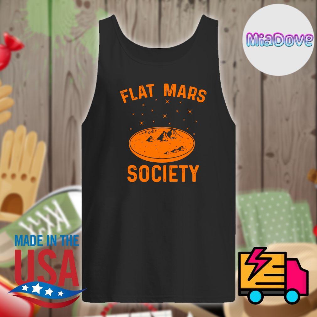 Flat Mars society s Tank-top