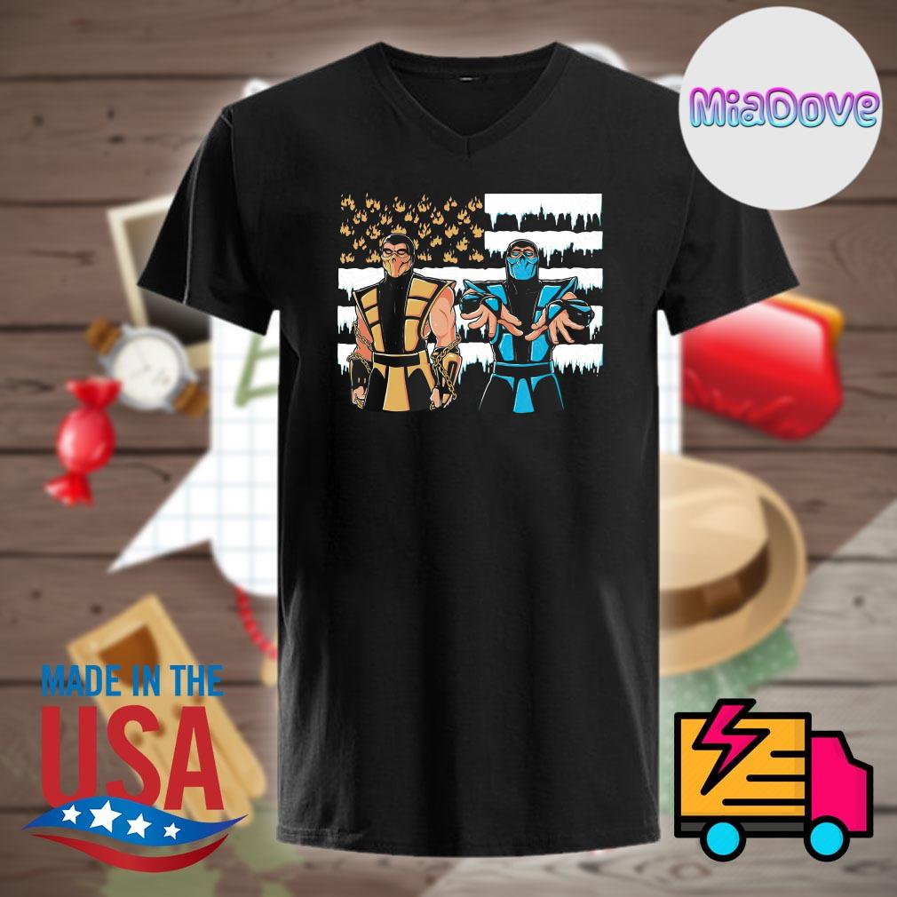 Black Dragonia Mortal Kombat Scorpion Sub Zero Outkast shirt