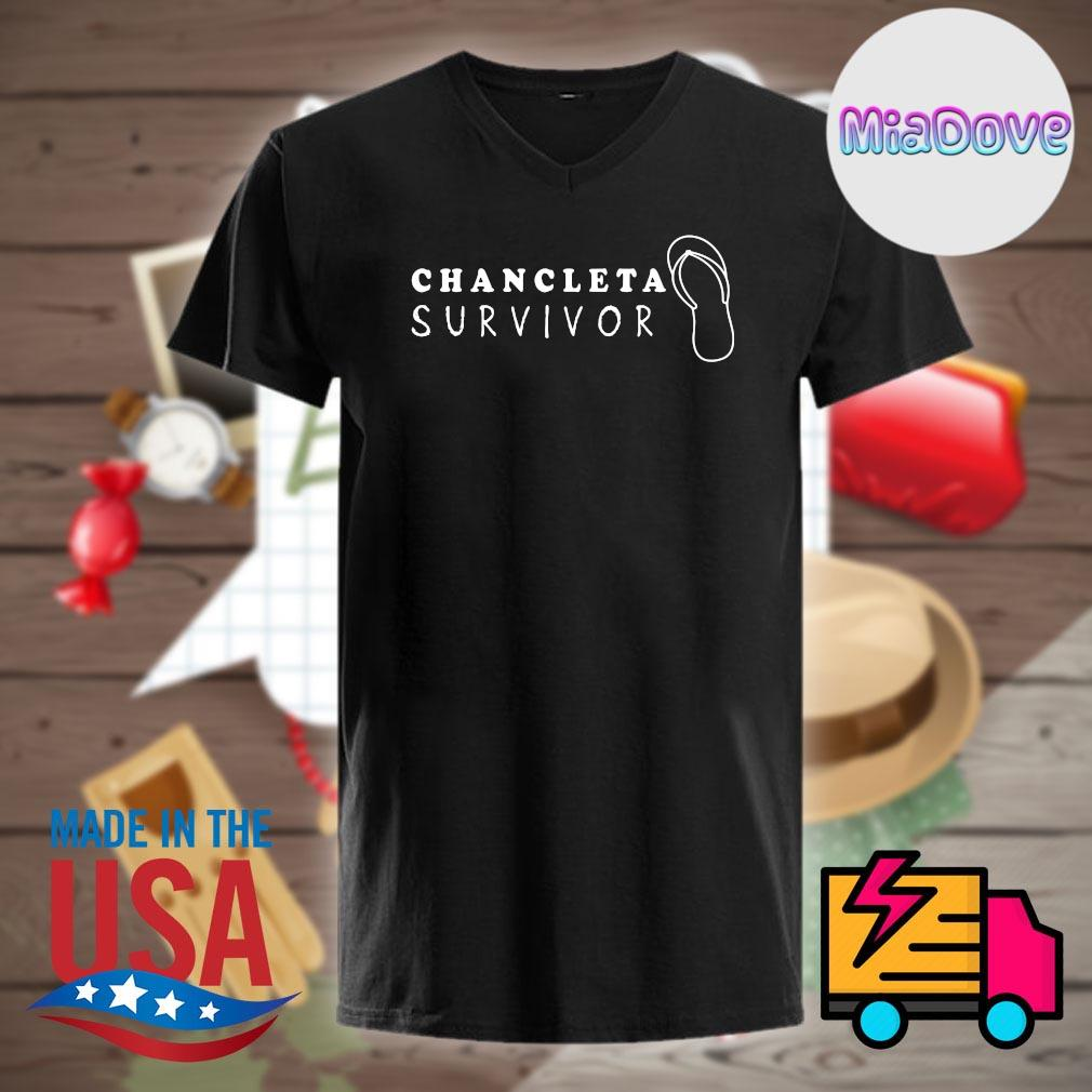 Chancleta survivor Flip Flop shirt