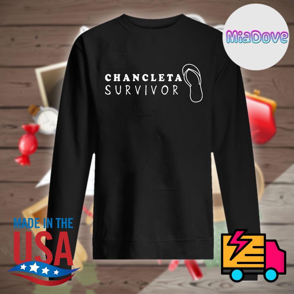 Chancleta survivor Flip Flop s Sweater