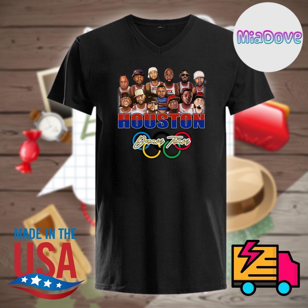 Dream team Houston Astros players character chibi shirt