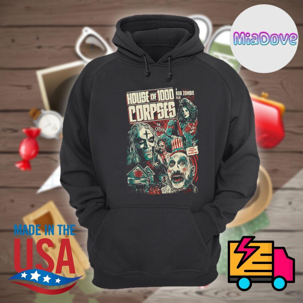 House of 1000 Corpses Fried Chicken and Gasoline s Hoodie