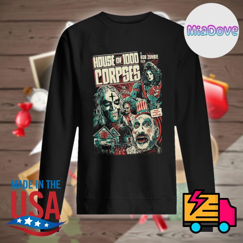 House of 1000 Corpses Fried Chicken and Gasoline s Sweater