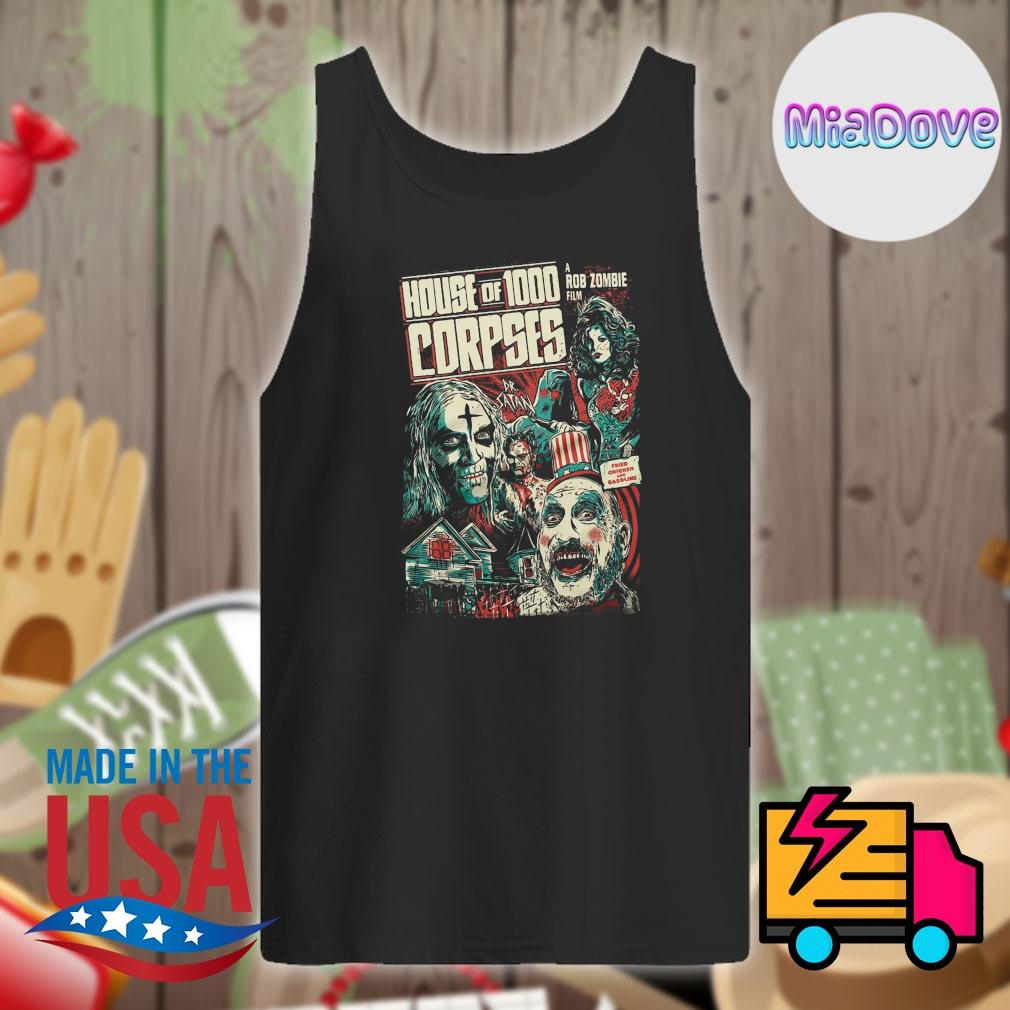 House of 1000 Corpses Fried Chicken and Gasoline s Tank-top