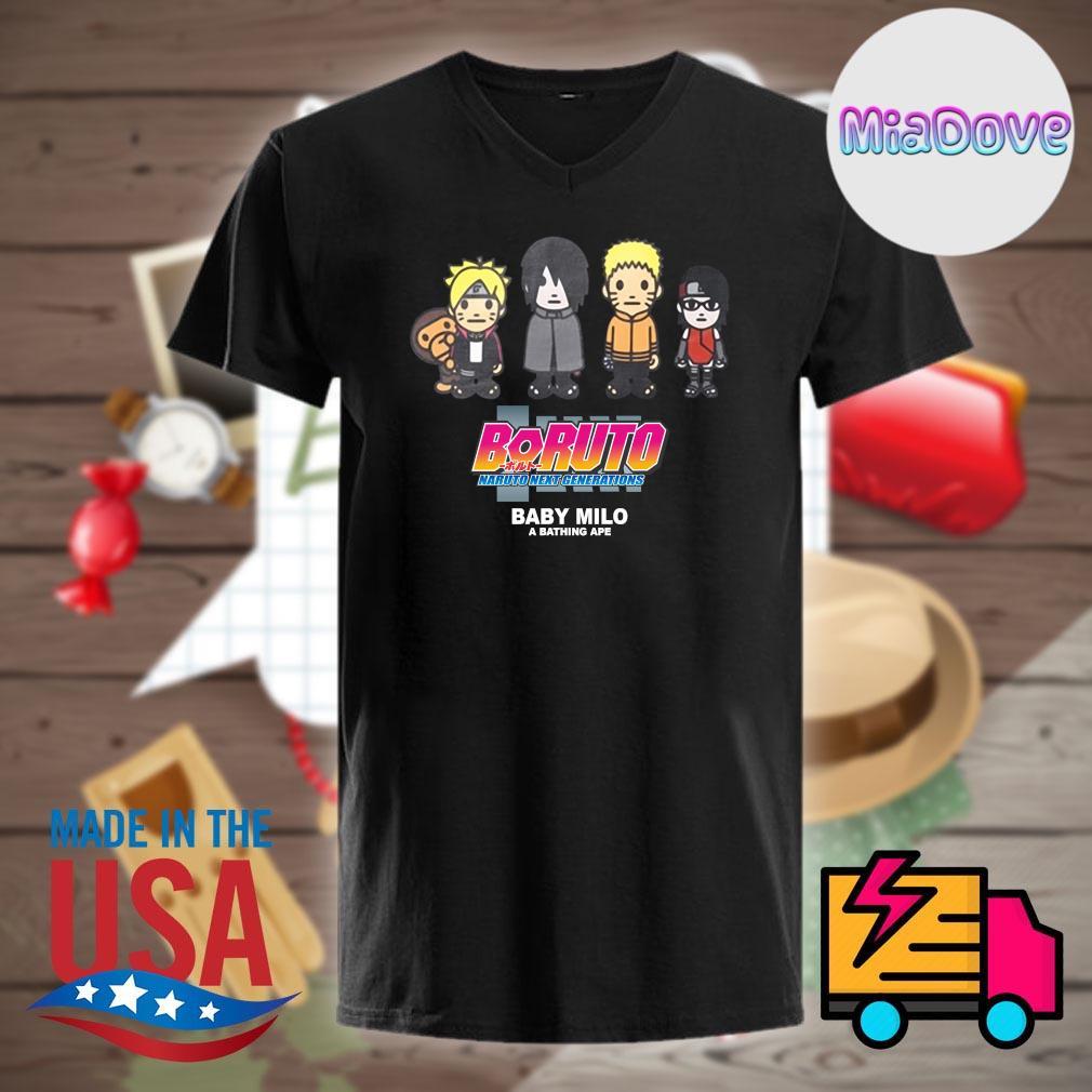 Boruto Naruto next generations baby Milo shirt