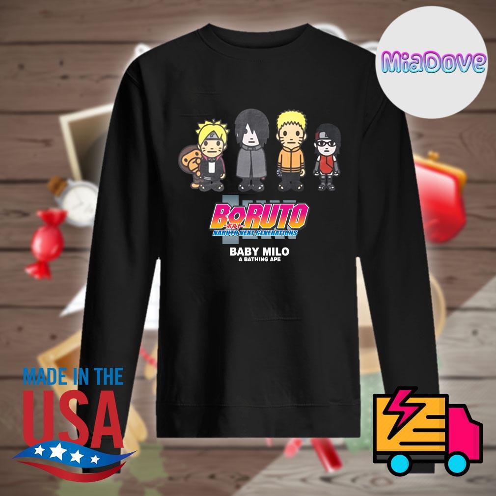 Boruto Naruto next generations baby Milo s Sweater