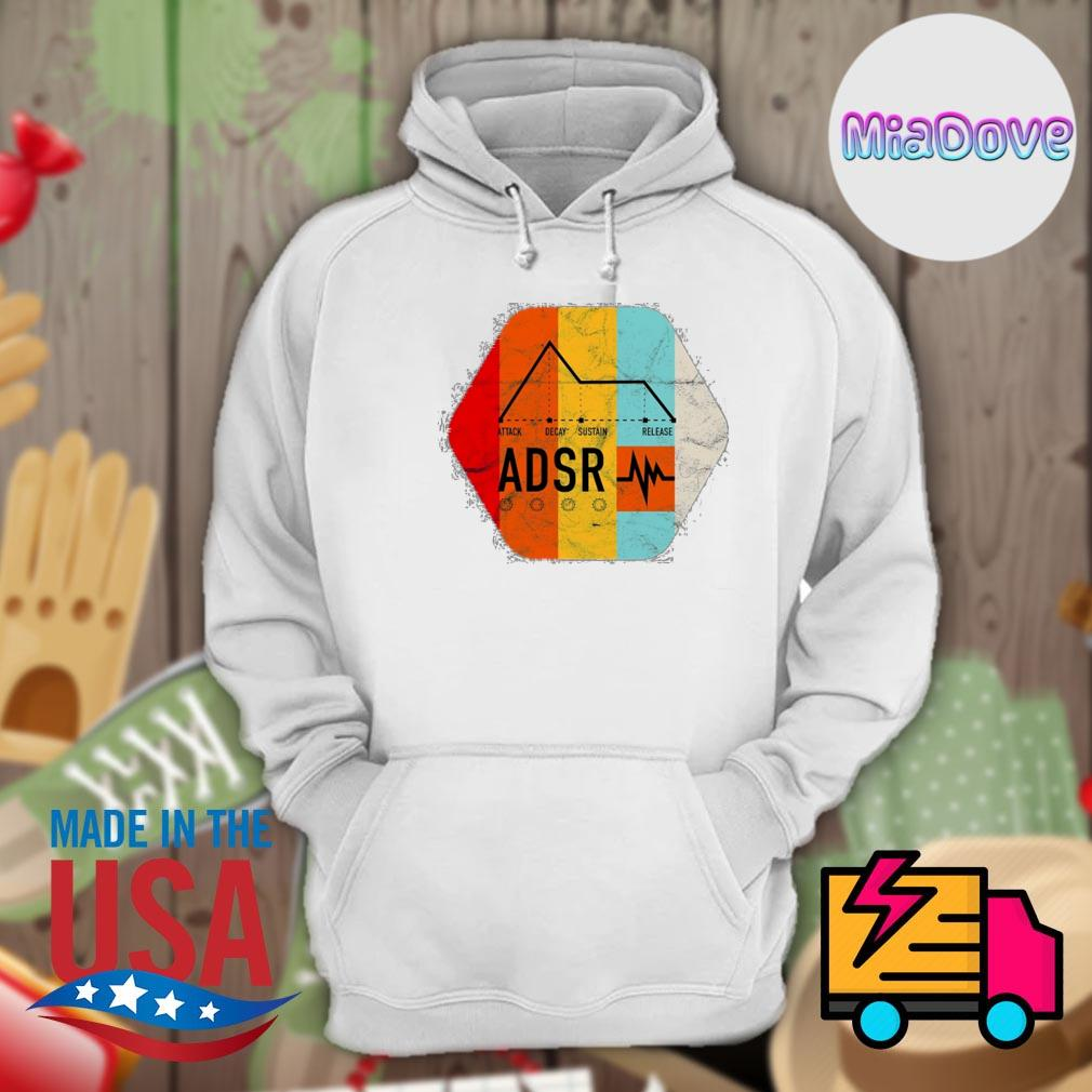 Synthesizer ADSR Color s Hoodie