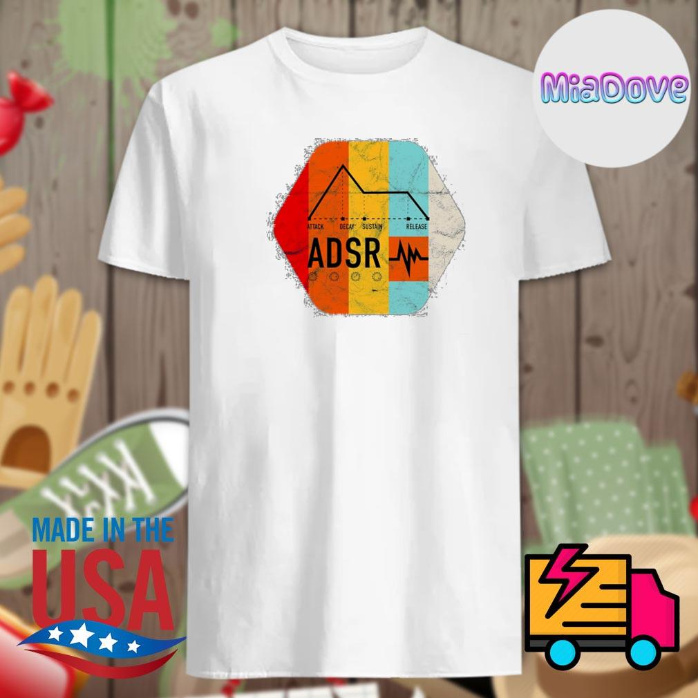 Synthesizer ADSR Color shirt