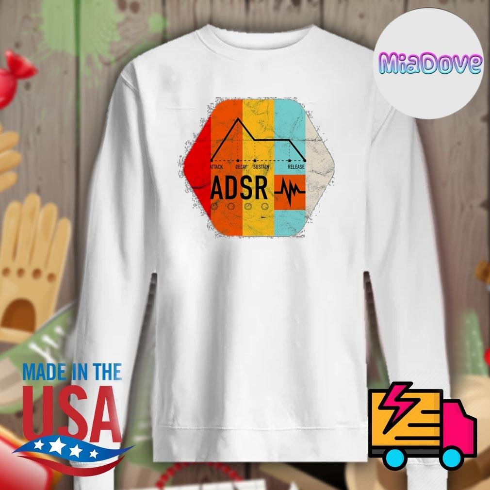 Synthesizer ADSR Color s Sweater