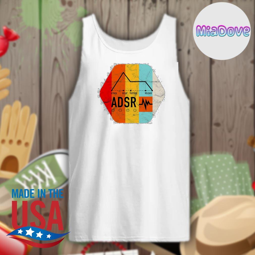 Synthesizer ADSR Color s Tank-top
