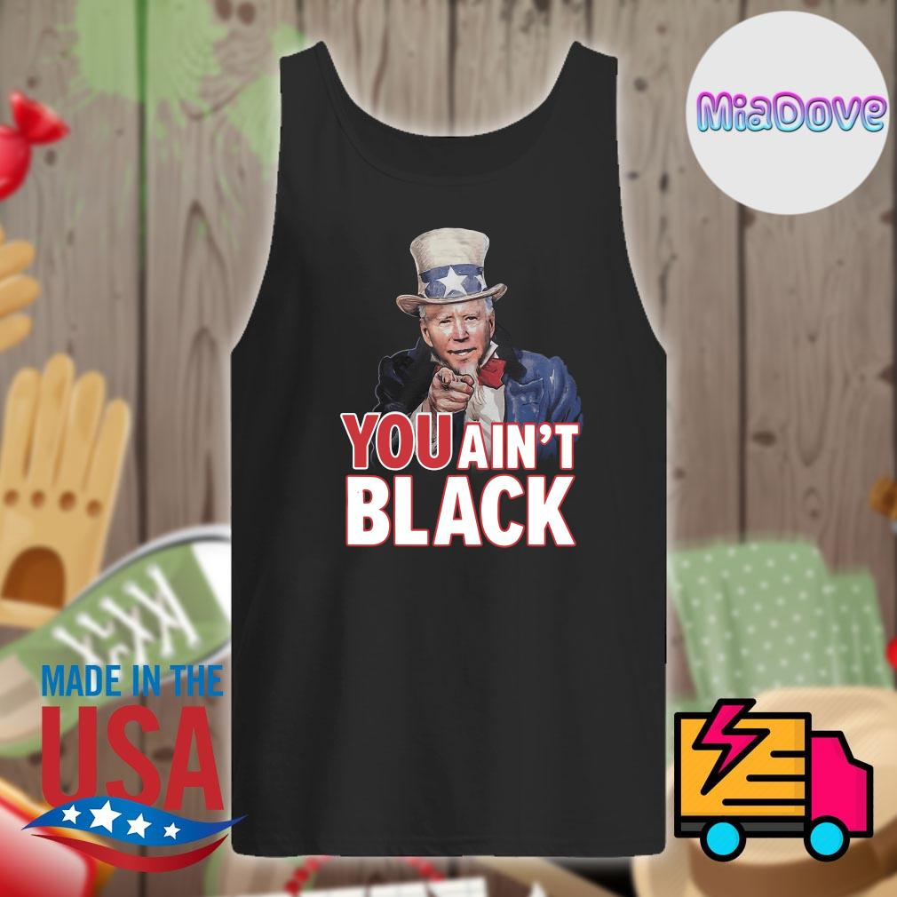 Trump you ain't black s Tank-top