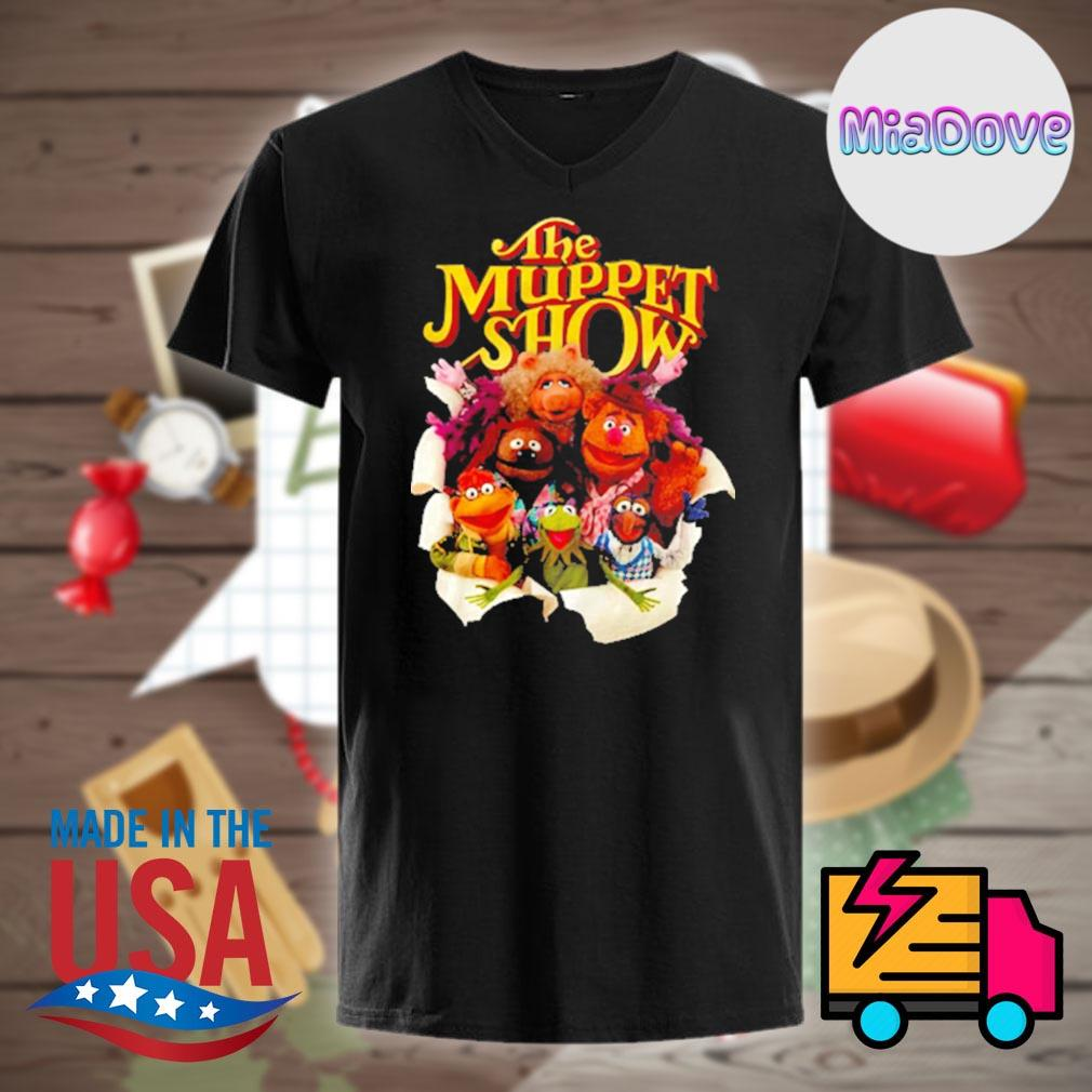The Muppet show characters shirt