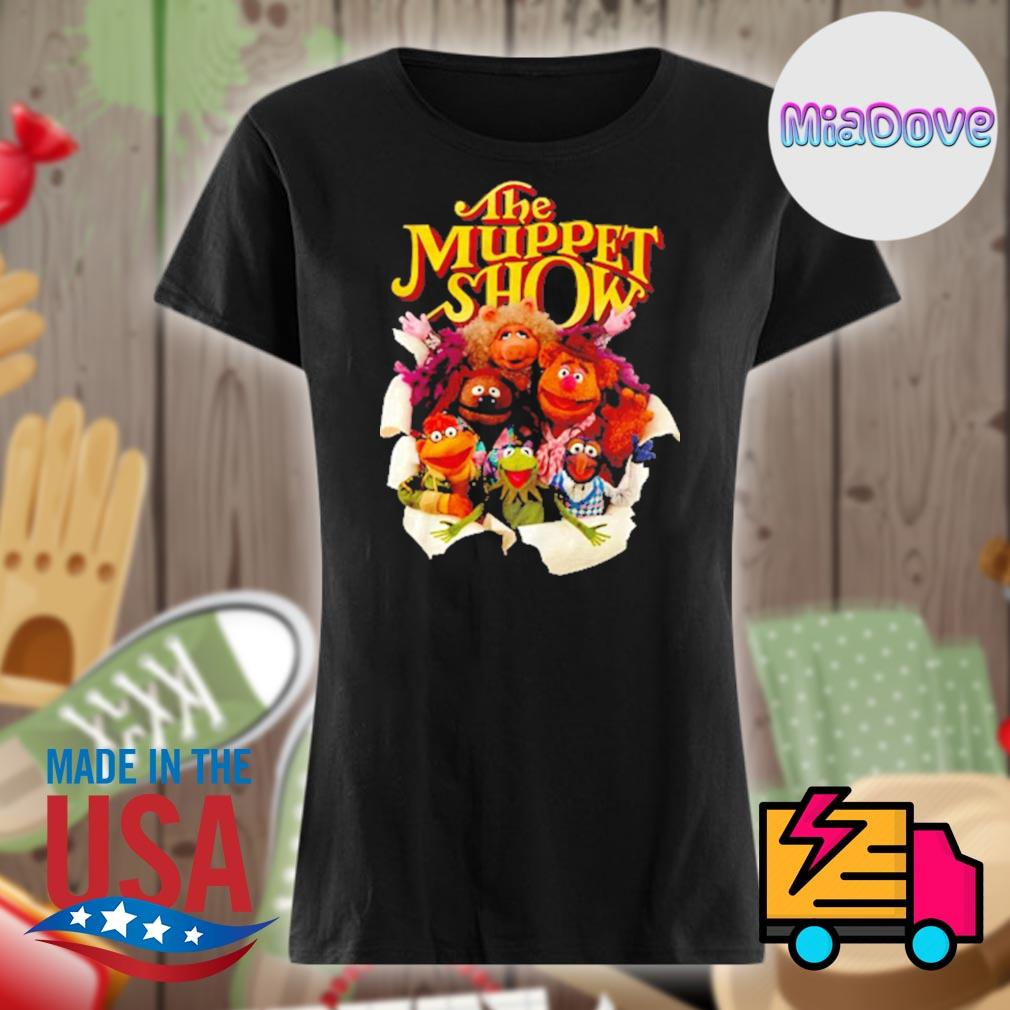 The Muppet show characters s V-neck