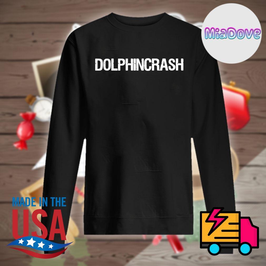 Dolphin crash tee s Sweater