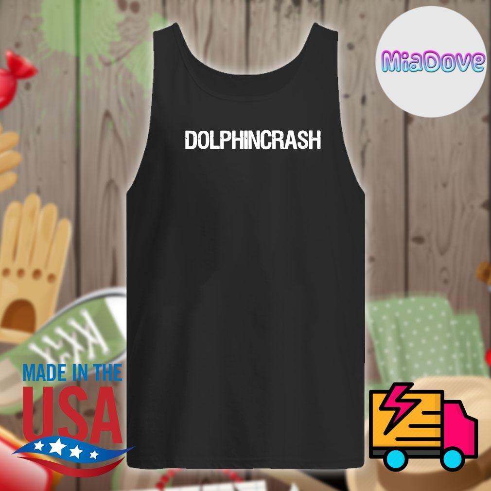 Dolphin crash tee s Tank-top