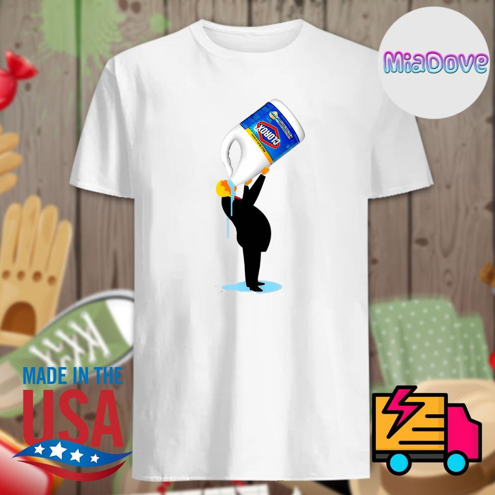Donald Trump drink Clorox shirt