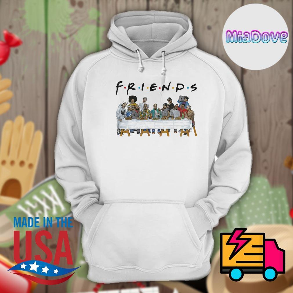 Dope and Tupac characters Friends party s Hoodie