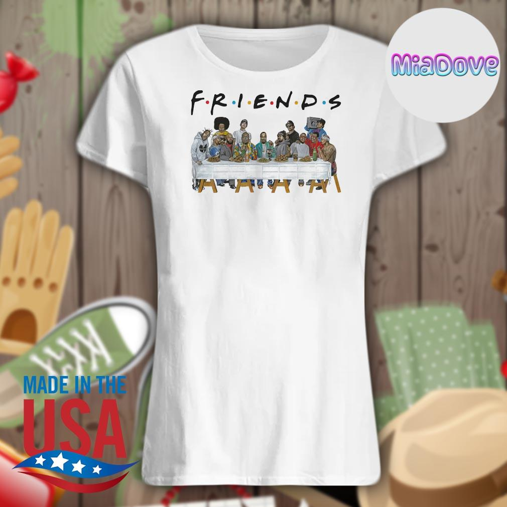 Dope and Tupac characters Friends party s V-neck