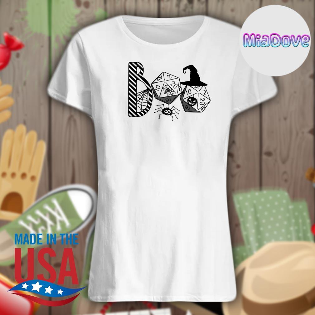 Halloween Boo witch Role game s V-neck