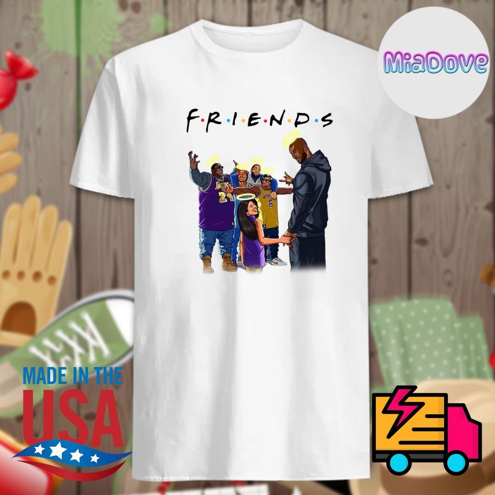 Kobe bryant legends never die Friends shirt