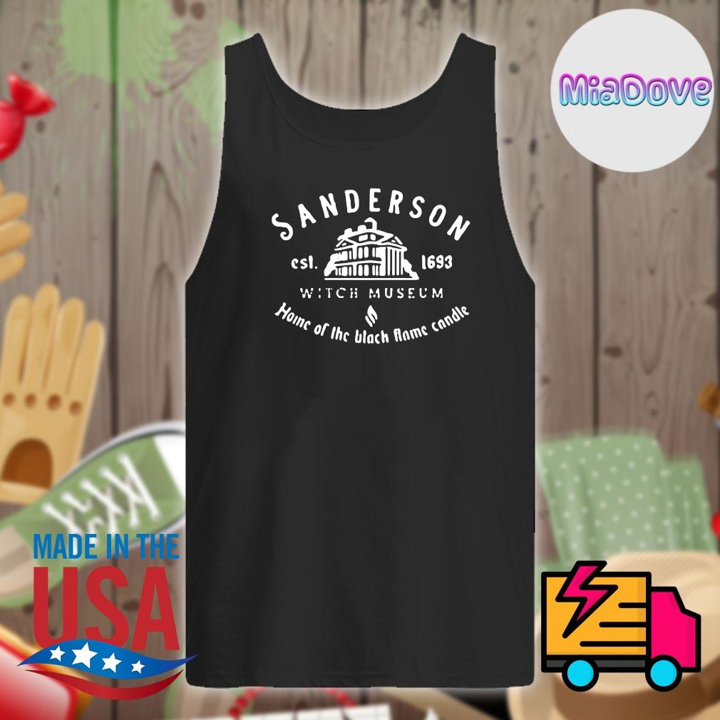 Sanderson est 1693 witch museum home of the black flame candle s Tank-top