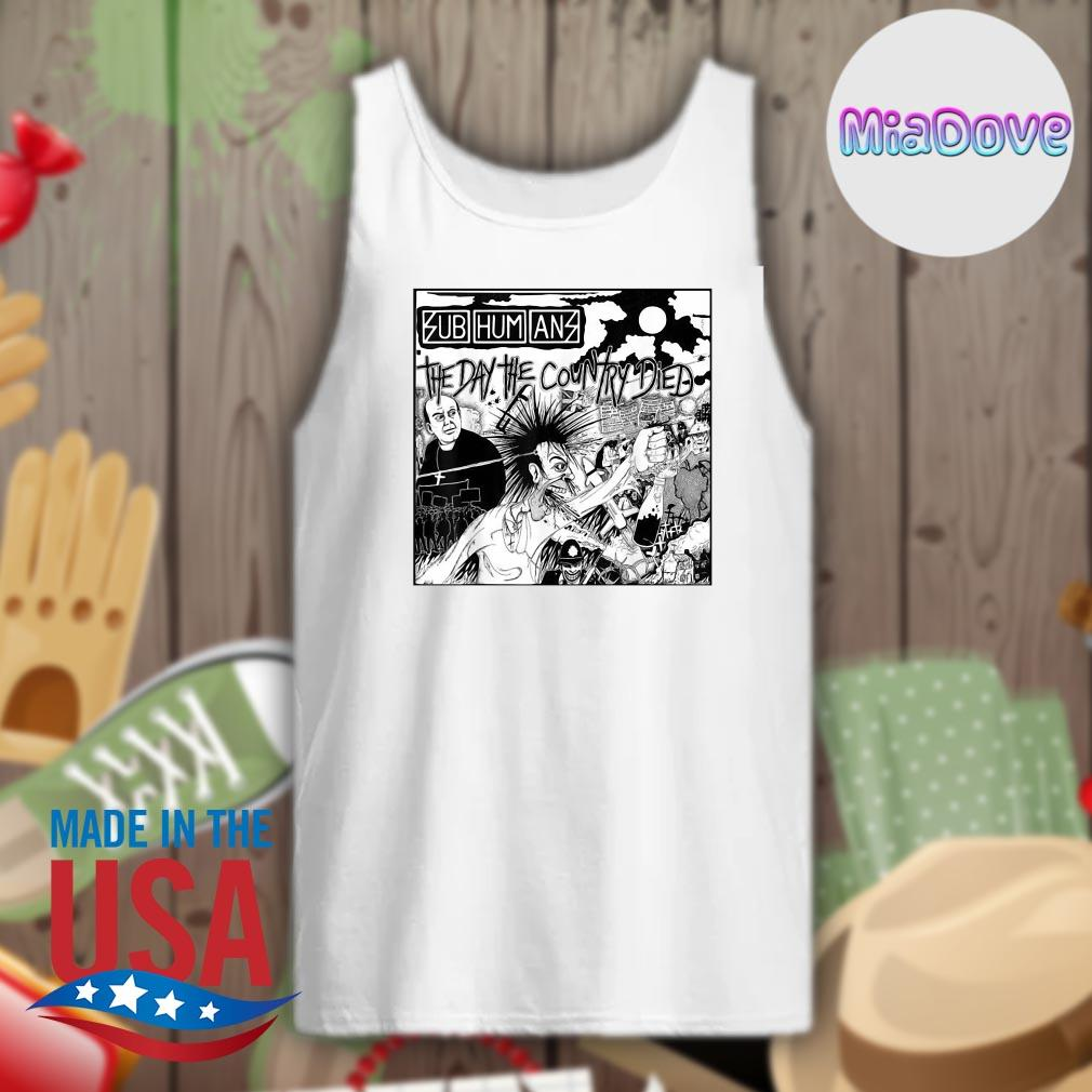 Subhumans 2020 the year the country died s Tank-top