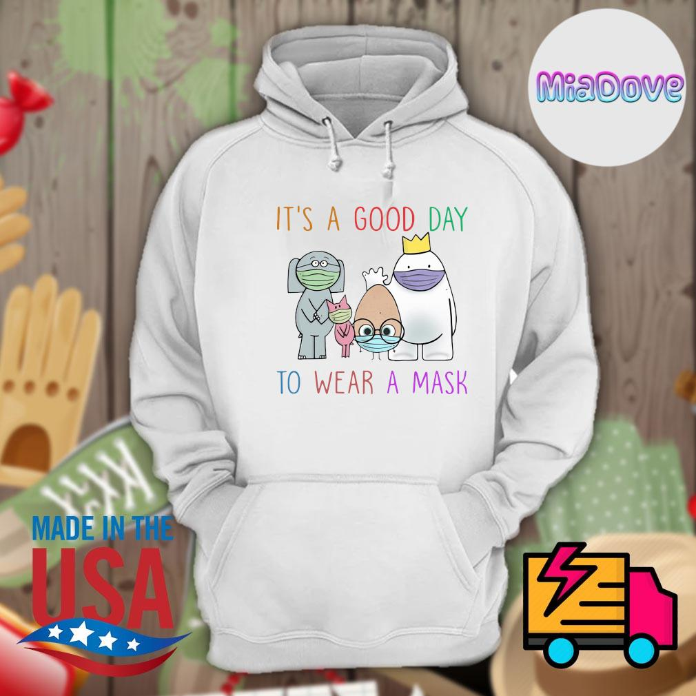 Teacher it's a good day to wear a mask s Hoodie