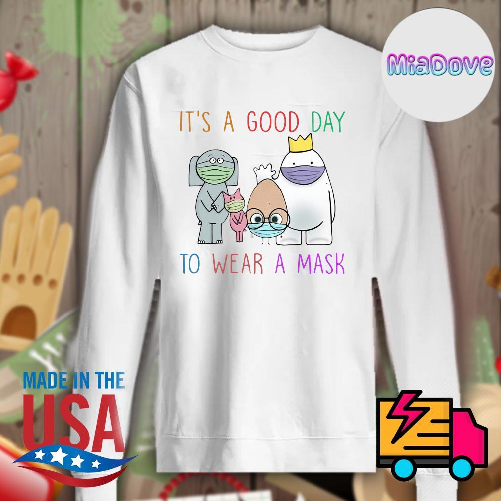 Teacher it's a good day to wear a mask s Sweater