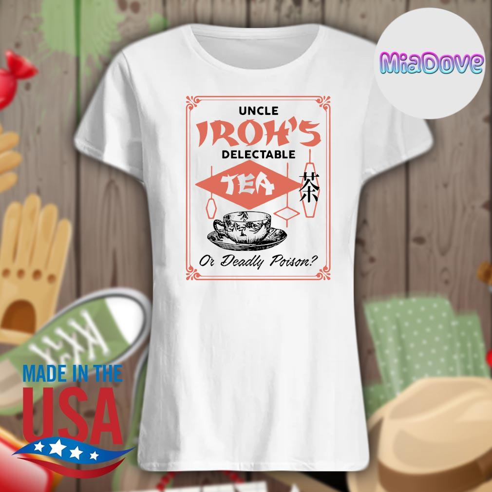 Uncle Iroh's delectable tea or deadly poison s V-neck