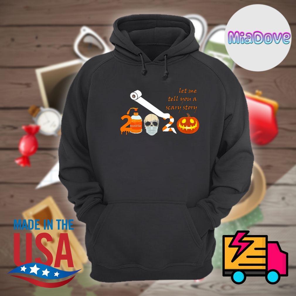 2020 toilet paper face mask pumpkin Halloween s Hoodie