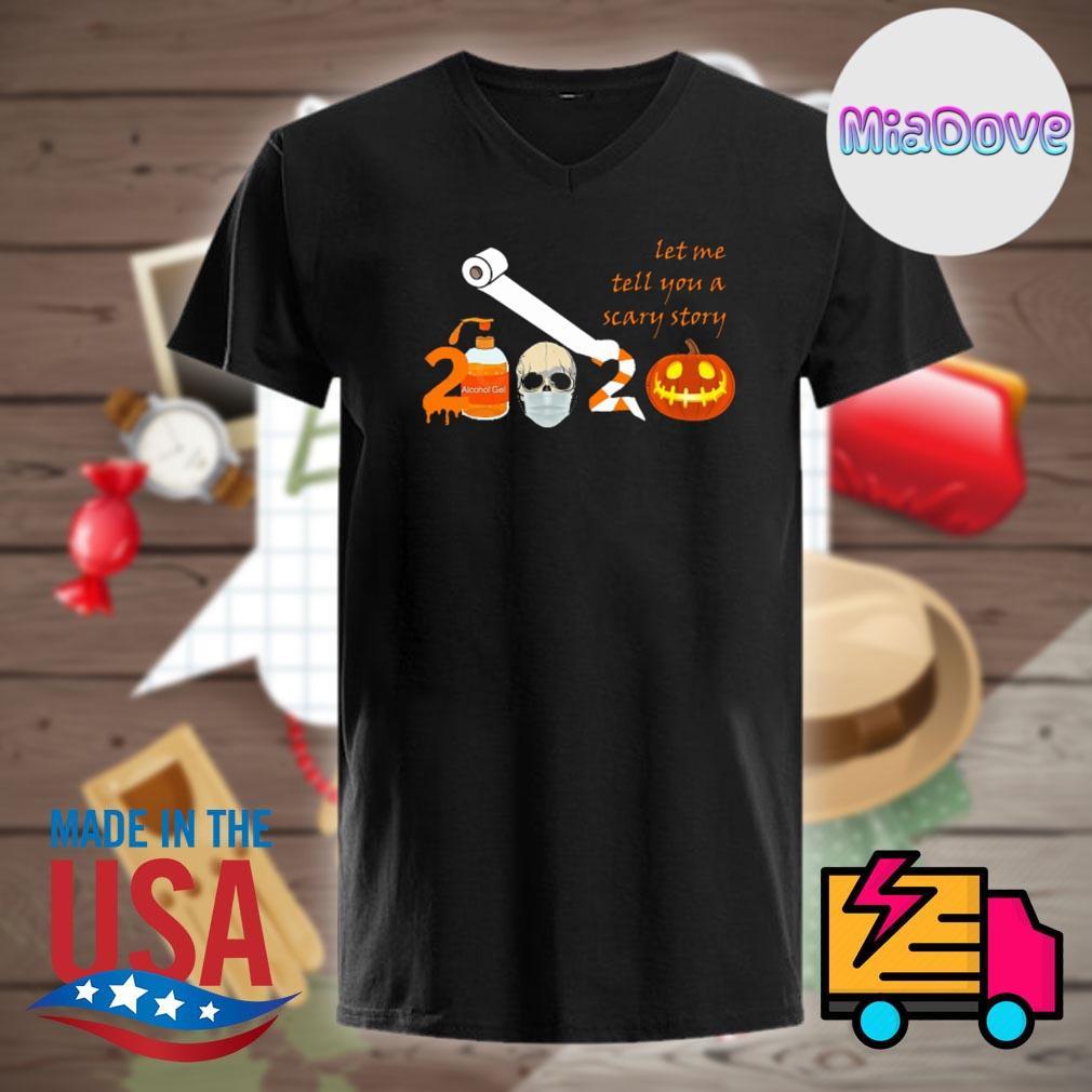 2020 toilet paper face mask pumpkin Halloween shirt