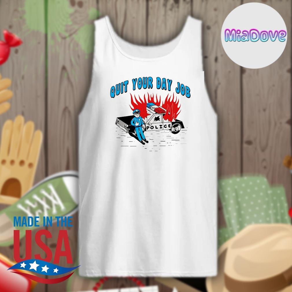 Police quit your day job s Tank-top