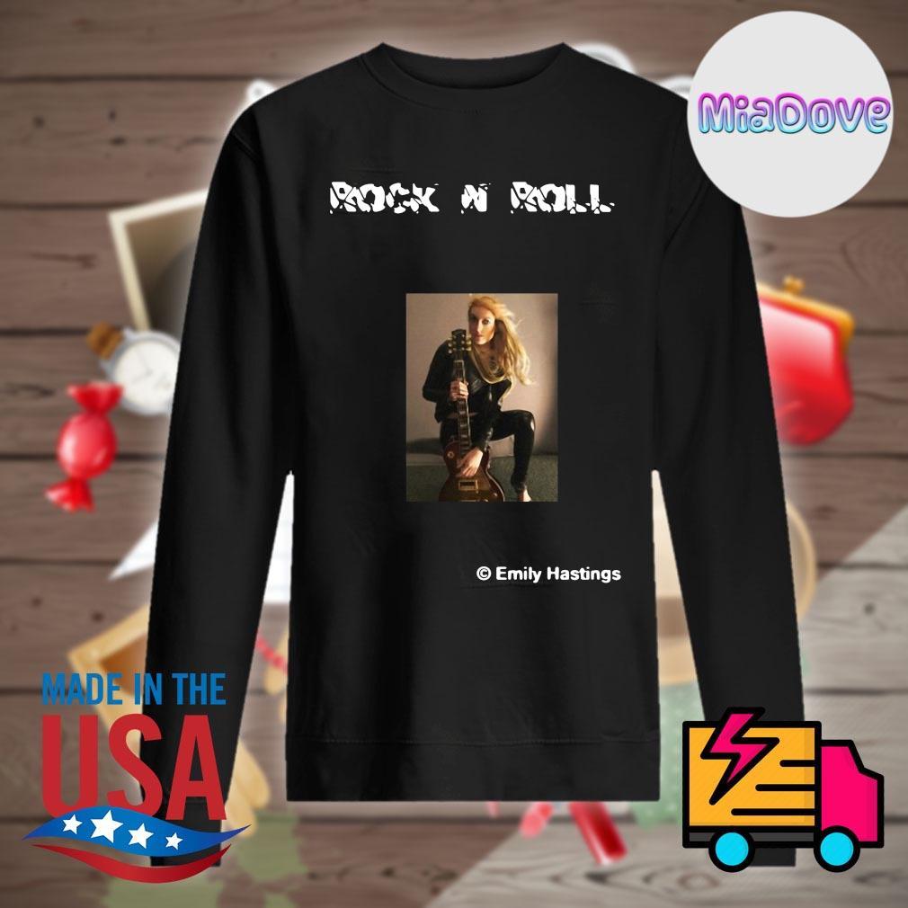 Rock N Roll Emily Hastings guitar s Sweater