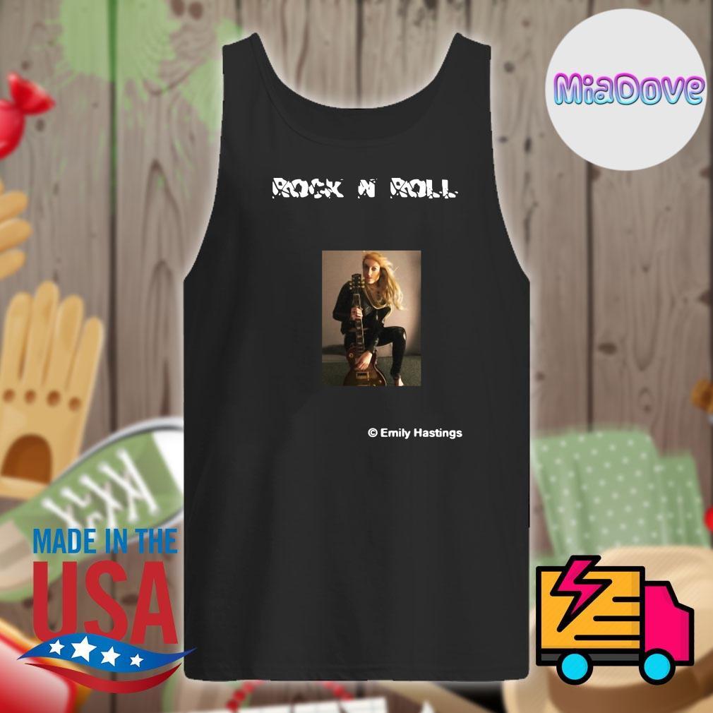 Rock N Roll Emily Hastings guitar s Tank-top