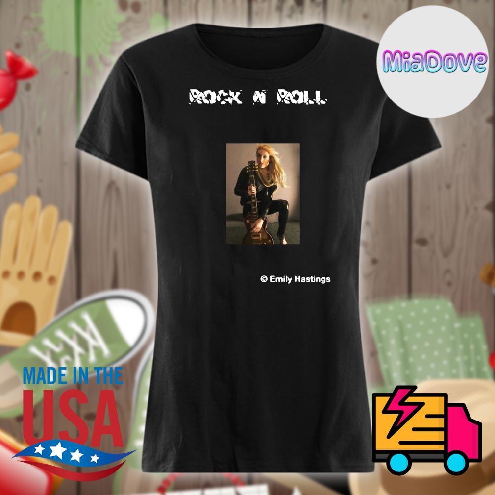Rock N Roll Emily Hastings guitar s V-neck