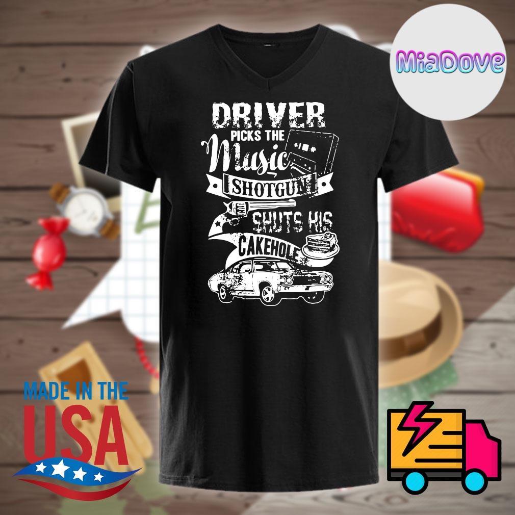 Supernatural driver picks the music shotgun shuts his cakehole shirt
