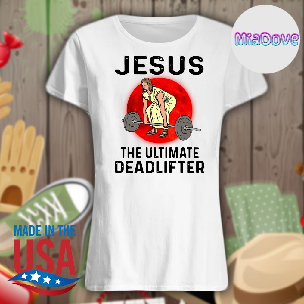 Jesus the ultimate deadlifter s V-neck