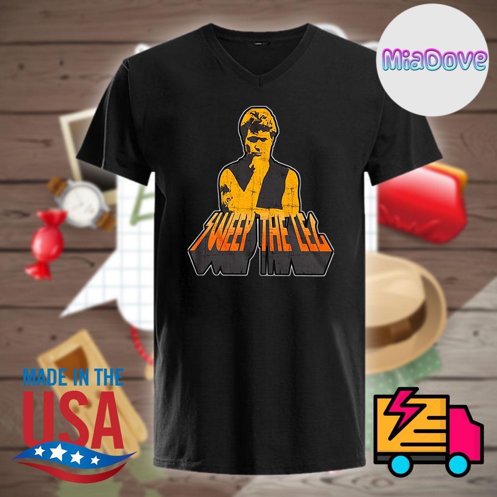 Cobra Kai Sweep the Leg shirt