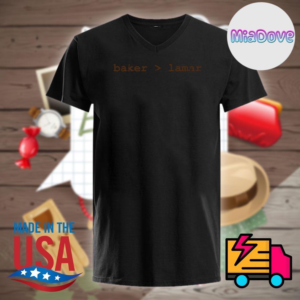 Baker Lamar shirt