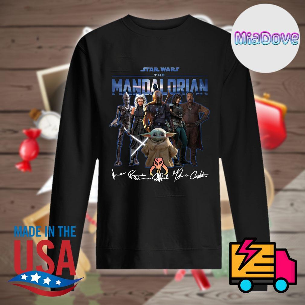 Star Wars characters the Mandalorian signatures s Sweater